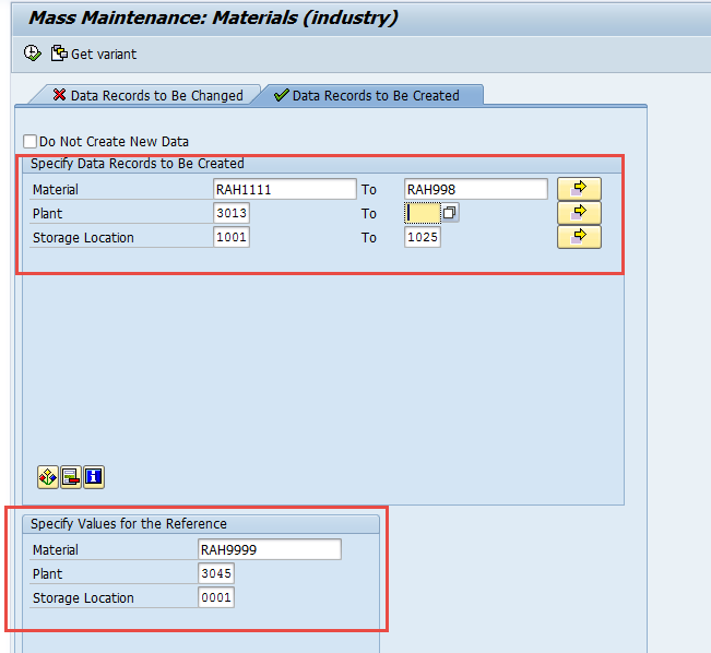 SAP MMSC_MASS – Mass Extension of Storage Locations view of Material